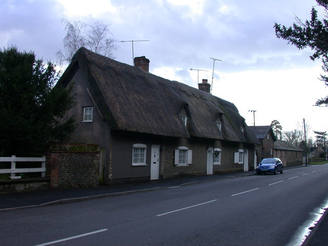 Thatched Cottages, Babraham High Street