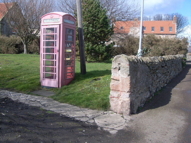 Holy Island telephone kiosk