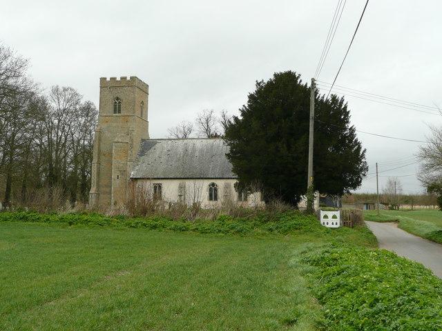 St. Andrew's church, Blo' Norton