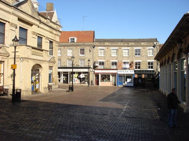 Cornhill, Bury St Edmunds