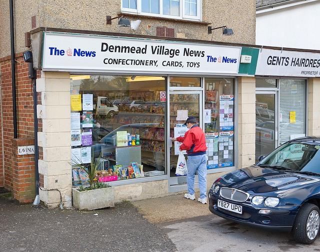 Denmead Village News shop