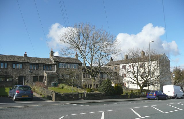 Houses, New Hey Road, Outlane, Longwood