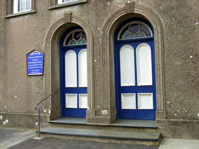 Ebenezer: double doors