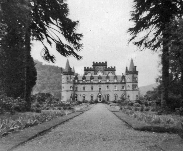 Inveraray Castle taken in 1962