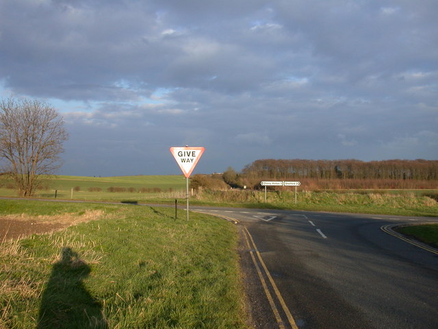 Crossroads on Wort's Causeway