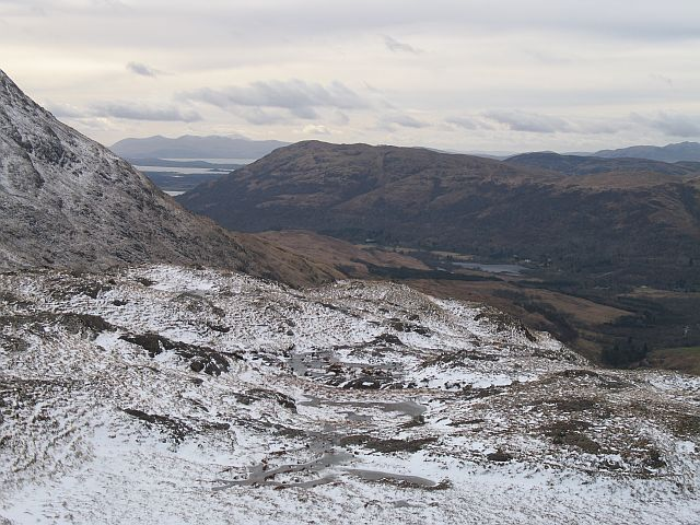 West ridge of An Grianan
