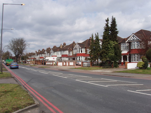 1930s houses by the North Circular