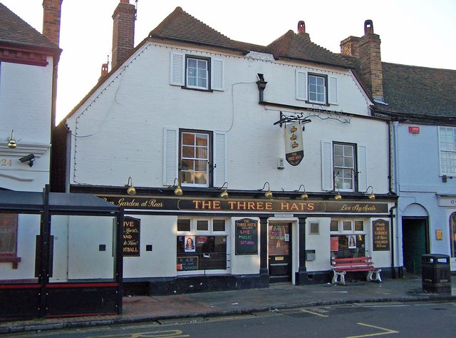 The Three Hats public house, Milton Regis