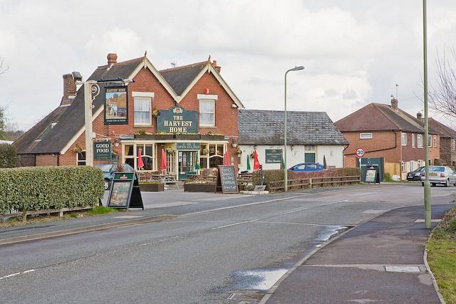 Harvest Home pub, Southwick Road, Denmead