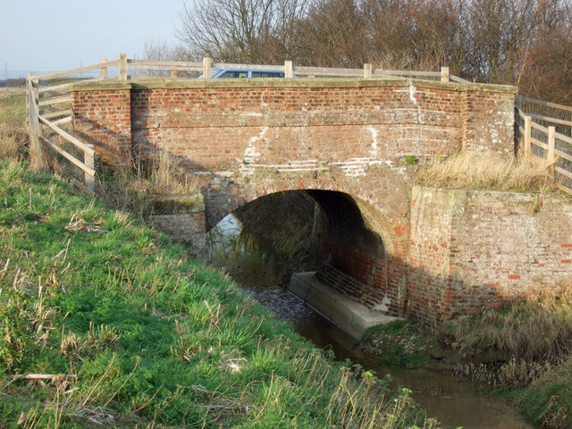 Bridge over Land Drain