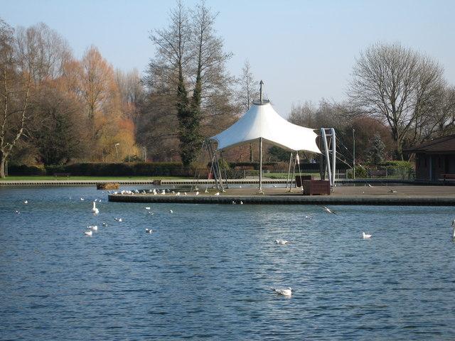 Eastrop Park pavilion
