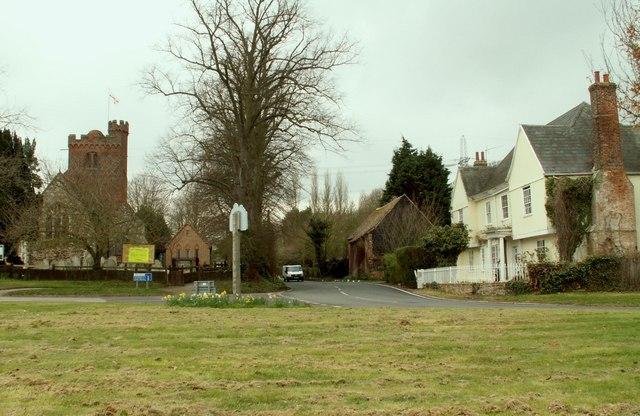 Sandon village