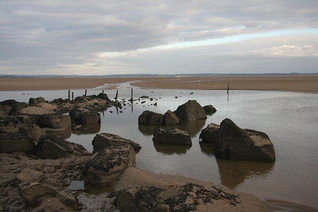 Remains of Pembrey Harbour