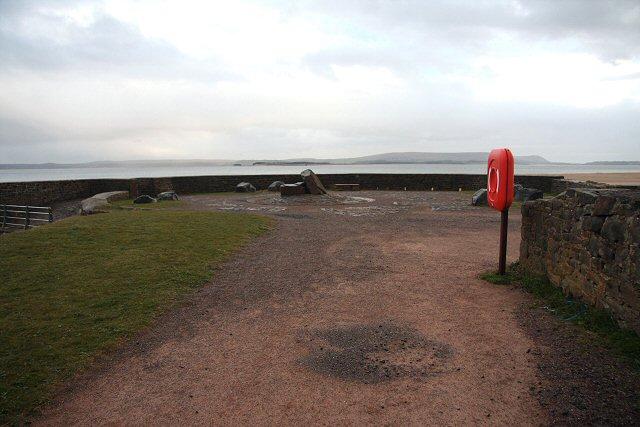 Pembrey Harbour pierhead