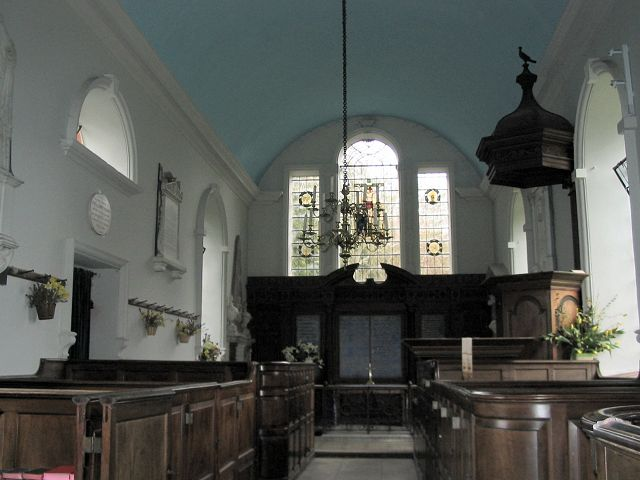St Mary  Avington interior
