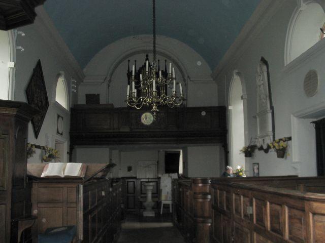 St Mary  Avington interior