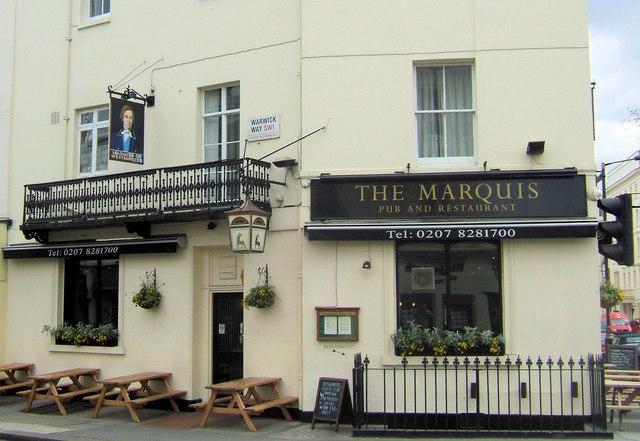 The Marquis, Warwick Way, London SW1