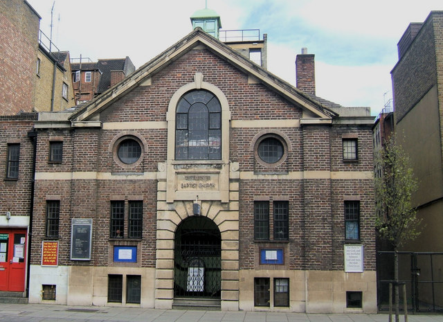 Westminster Baptist Church, 100, Horseferry Road, London SW1