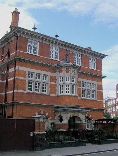 Westminster Coroner's Court, Horseferry Road, London SW1