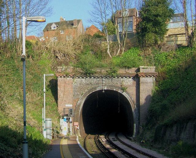 Lewes Railway Tunnel, Lewes, East Sussex