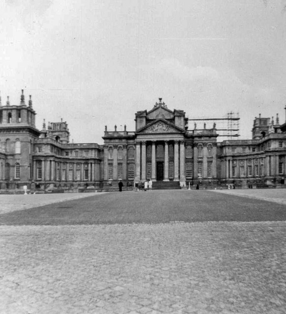 Blenheim Palace, Oxfordshire, taken 1964