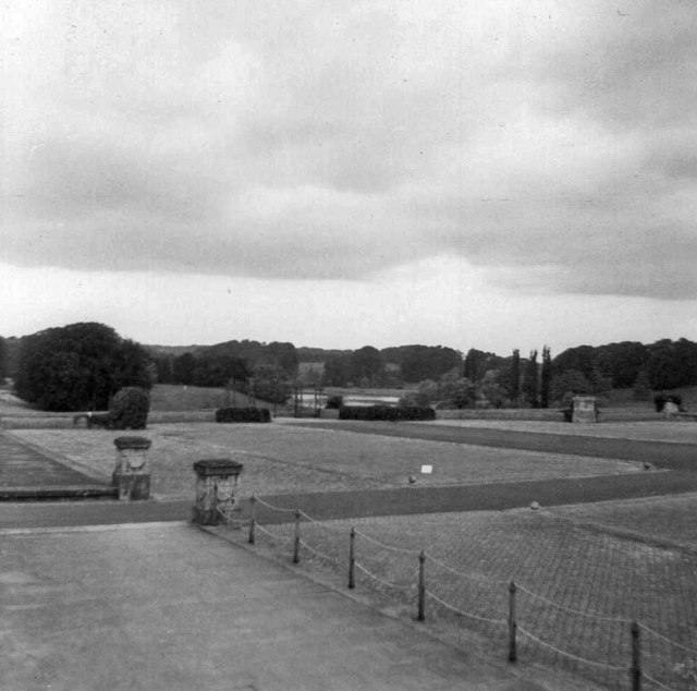 Blenheim Palace, Oxfordshire, taken 1964