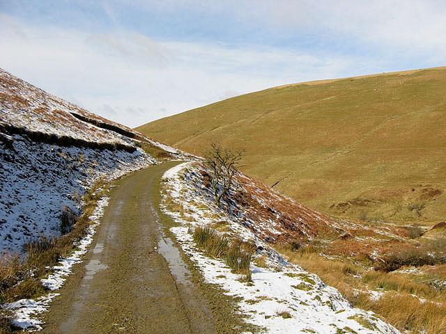 A farm track