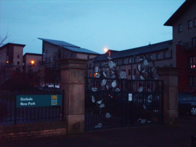 Gorbals New Park At Twilight