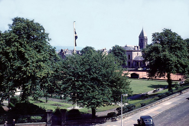 Ardgowan Square, Greenock early 1960's