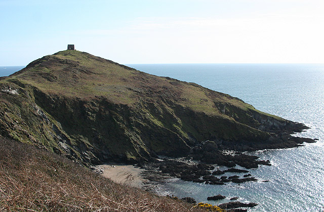 Maker with Rame: St Michael's Chapel, Rame Head