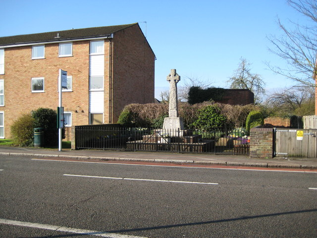 London Colney: The War Memorial