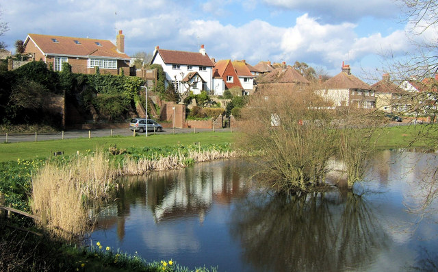 Blatchington Pond, Sutton Drove, Seaford, East Sussex