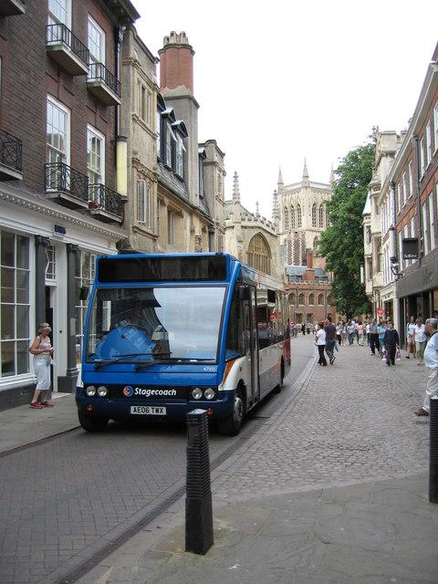 City centre shuttle bus - Trinity Street