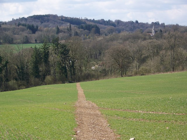 Footpath towards Fonthill Lake