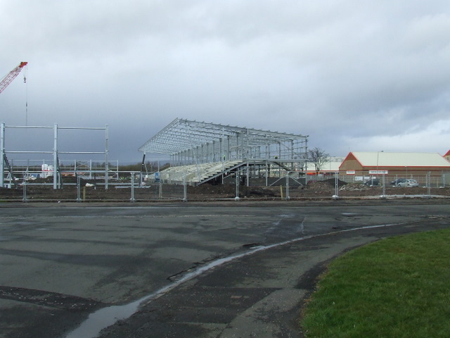 St Mirren's new home takes shape