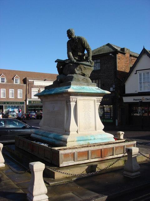 South African War memorial, Bury St Edmunds