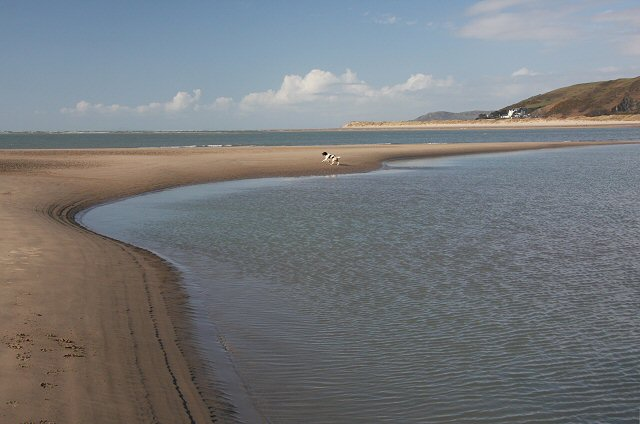 Northern end of Borth Sands