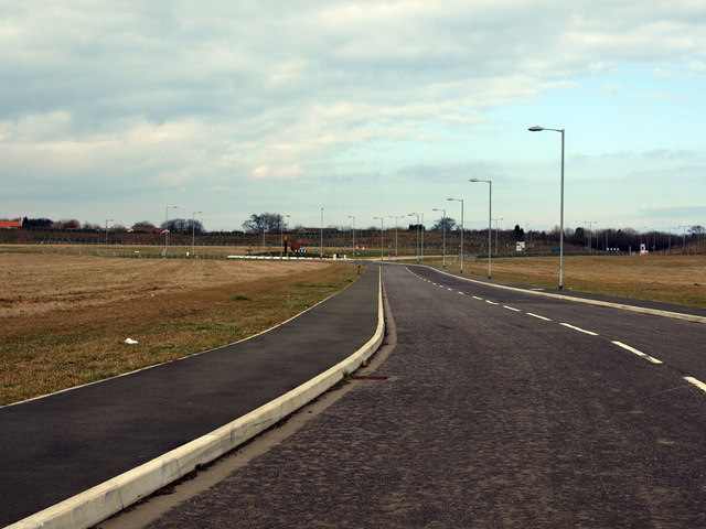 New Road In New North Seaton Industrial Area