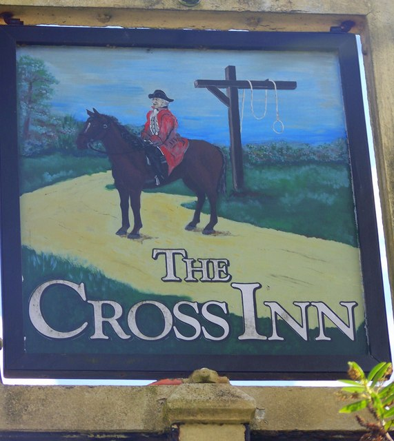 Sign for the Cross Inn, Tisbury