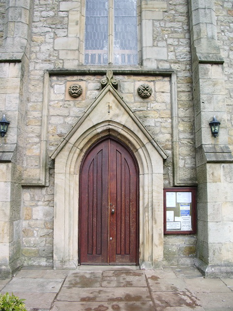 St Mary Magdalene The Parish Church of Clitheroe, Doorway