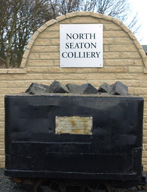 Coal Tub At North Seaton
