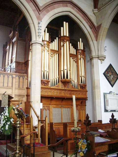 St Mary Magdalene The Parish Church of Clitheroe, Organ