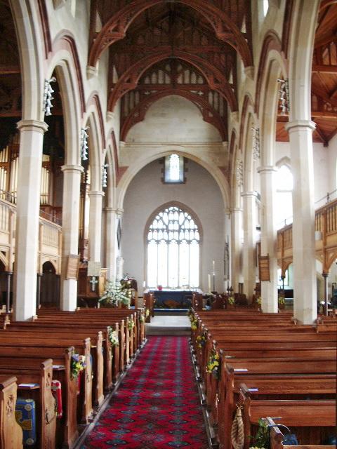 St Mary Magdalene The Parish Church of Clitheroe, Interior