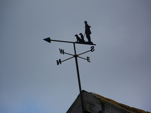 Weather vane, Croucheston Farm, Bishopstone
