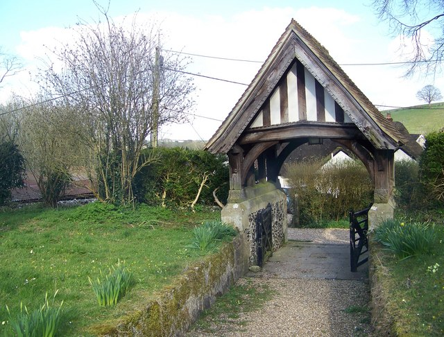 Lych gate, St John the Baptist Church, Ebbesbourne Wake