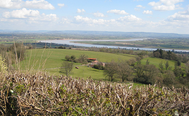 View from Dean Hill to the Severn's horseshoe bend