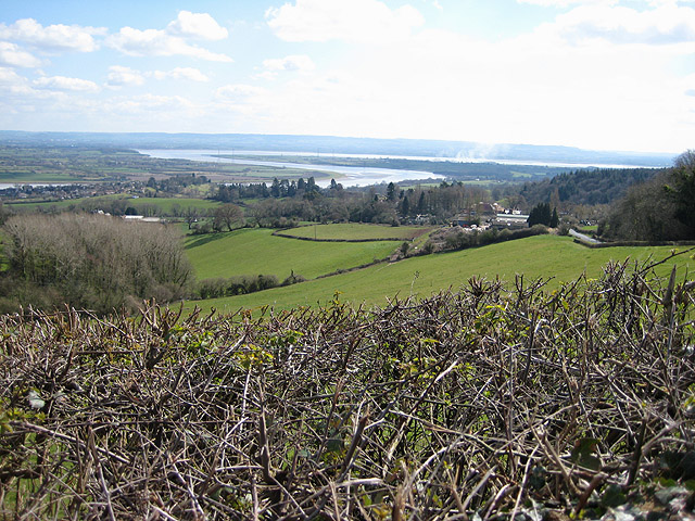 Hillside above the Severn Valley
