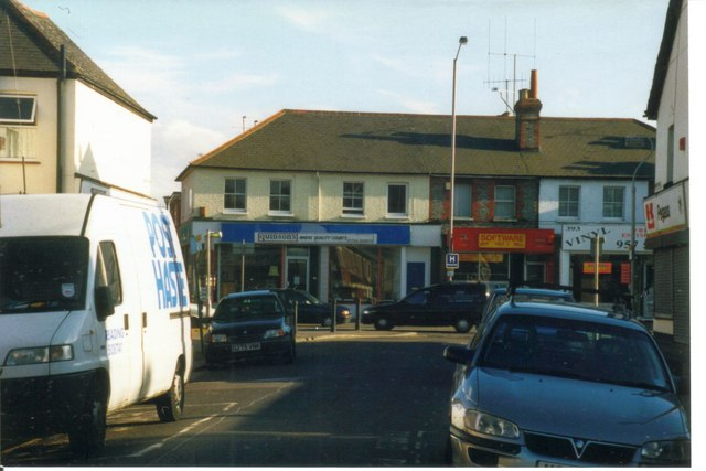 Valentia Road at the junction with Oxford Road 1998