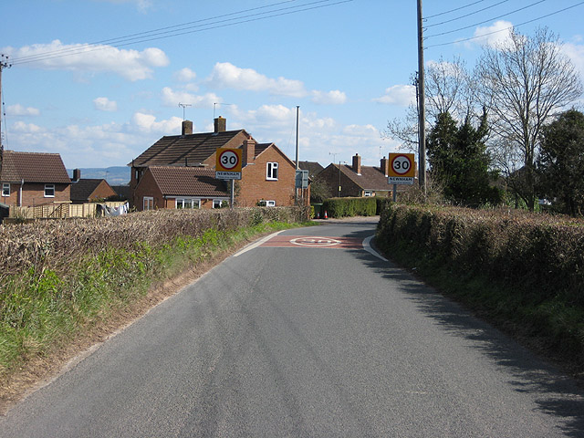 Entering Newnham-on-Severn from the west