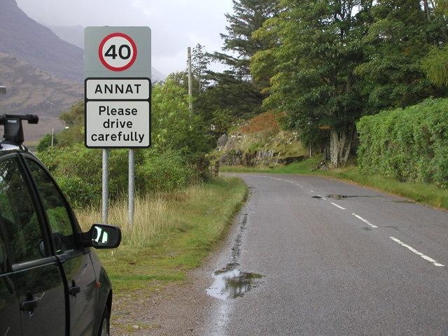 Road at Annat